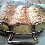 recette Canellonis de courgettes gratinés au jambon