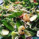 recette La salade de l' abbaye de Valérie Huck