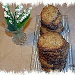 Cookies au sésame noir et gingembre confit –Recette de chouya