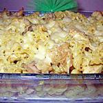 recette Gratin de pates aux poulet