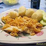 recette Sole aux chips et fromage