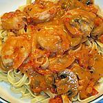 recette Sauce rosée aux crevettes