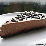 Gâteau au fromage & au chocolat sans cuisson