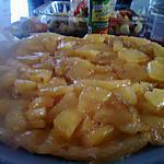 recette Tarte tatin d'ananas frais