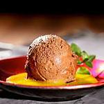 recette Mousse au chocolat et sauce à la mangue