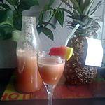 recette Jus de pastèque-pomme centrifugeuse