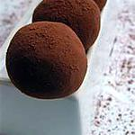 recette Truffes au chocolat et au café