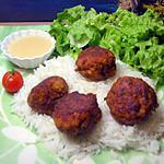 recette boulettes de poulet au paprika