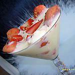 recette tiramisu aux fraises façon verrine