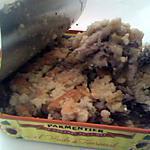 recette Crumble de sardines