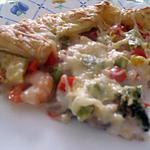 recette Tarte aux crevettes
