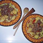 recette Pomme de terre à la bolognaise