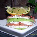 recette mille-feuilles de concombre et saumon (recette dukan)