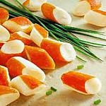 recette salade fraiche de  surimi et ananas