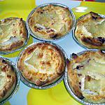 recette tartelettes lardons camenbert