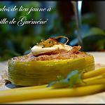 recette Tournedos de lieu jaune à l'andouille de Guéméné