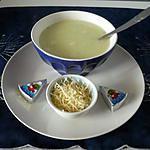 recette Velouté de courgettes/vache qui rit