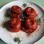 recette Tomates farcies ratatouille/jambon