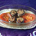recette Champignons farcis jambon/tomate