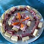 recette Amuses bouche jambon serrano/gruyère