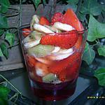 recette ma salade de fruits qui pétille