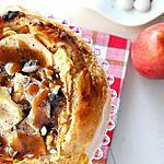 recette Tarte aux pommes et caramel lacté d'Alain Passard