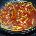 recette penne sauce tomate façon risotto