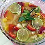 recette Salade de fruits aux saveurs des îles