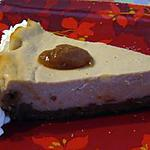 Cheesecake à la creme de marron