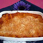 recette Lasagnes raclette/bacon/cantal