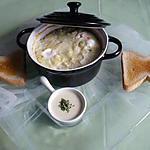 recette Oeufs cocotte cantal/gruyère