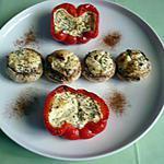 recette Légumes farcis St nectaire/cantal