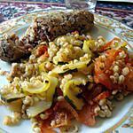 recette gratin de blé a la provençale (andouillette en papillote )