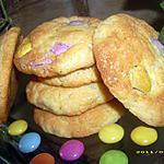 recette cookies moelleux aux smarties