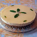 recette Cheese cake à la menthe