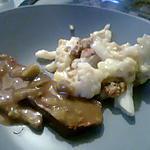 recette Roti de boeuf sauce chasseur