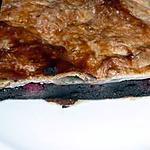 recette galette frangipane choco-framboises