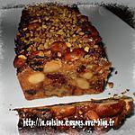 recette Cake aux fruits secs et aux écorces d'oranges confites