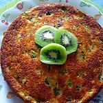 recette Gâteau aux kiwis