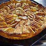 recette Tarte aux pommes , pate feuillettée