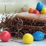 recette Macarons au chocolat de Pâques