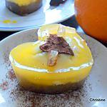 recette Brownie-cheesecake à l'orange