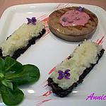 recette Tournedos de boeuf de Chalosse, sauce aux fruits des bois & écrasé de navets sur paillasson de Vitelottes