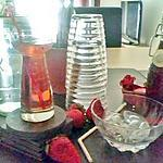 recette Sirop de fraises maison