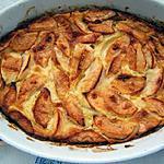 recette Far aux  pommes et fève tonka