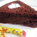 Gâteau au chocolat et à la crème carambar