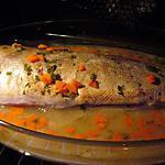 recette Brochet sauce au vin blanc et aux carottes