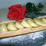 recette tarte fine pomme-pêche