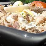 recette salada nissarda 'salade de riz niçoise '