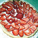 recette Tarte aux fraises saveur amande